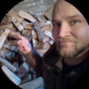 Maalatun Puun Polttaminen
